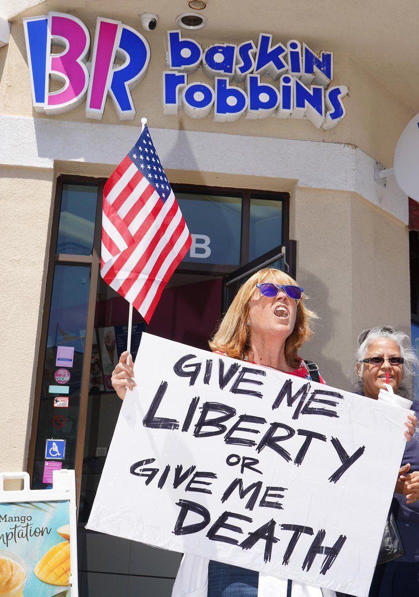 Jason Blachowski On Twitter My Liberty Give It To Me Baskin Robbins