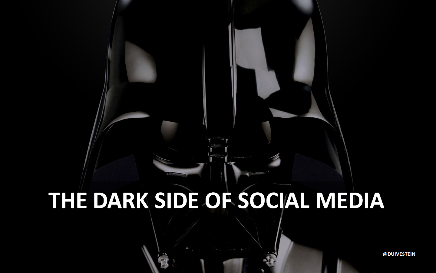 Does Google make us stupid? Can't we focus anymore because of all the disruptions that take away our attention? Some negative side effects of social media are described in the trendreport The Dark Side of Social Media. The report can be downloaded at this location: http://bit.ly/AoRnCo