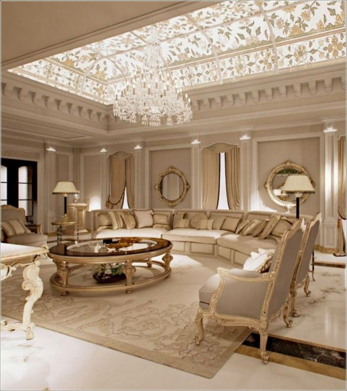 Home Decor 2012 Luxury Homes Interior Decoration Living: The Key Features Of Luxury Living Room Interior You Must