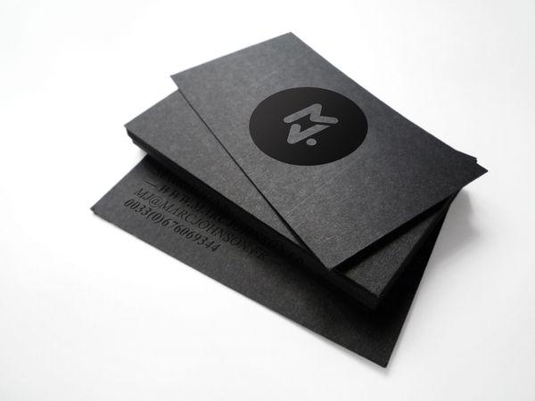 biz card / Marc Johnson