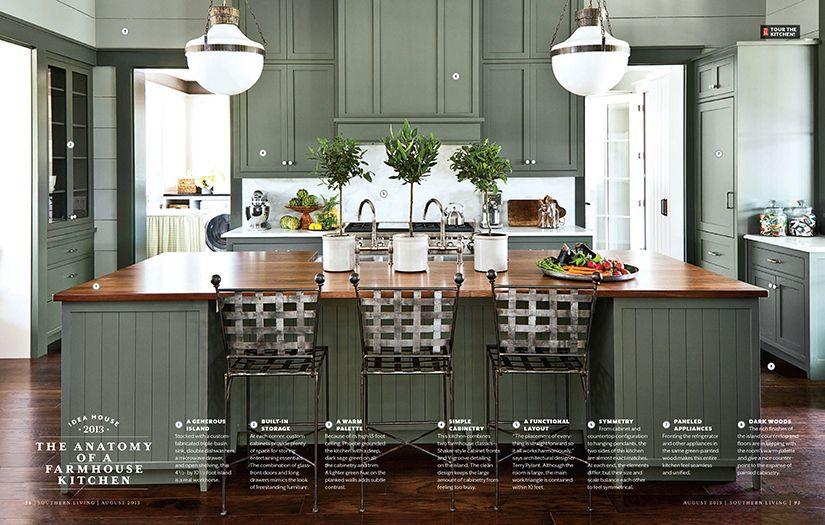 Anatomy Of A Farmhouse Kitchen By Phoebe Howard For Southern
