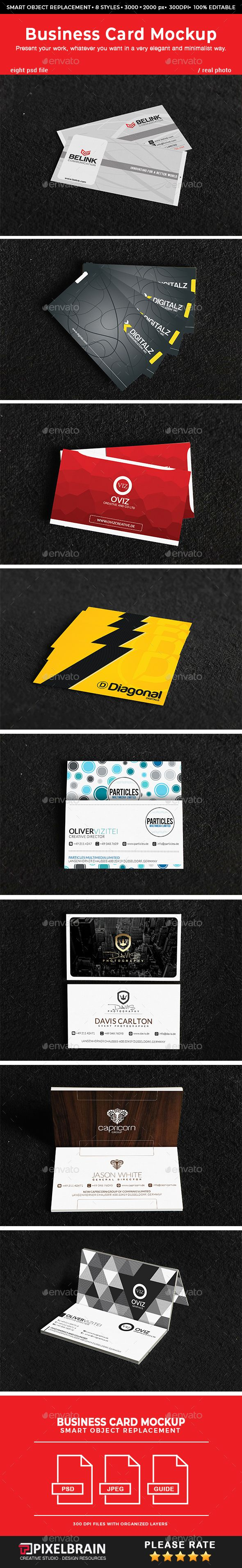 Realistic business card mockups vol 3 mockup business cards and realistic business card mockups vol 3 business cards print reheart Gallery