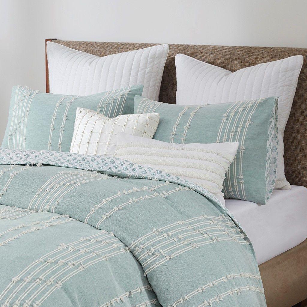 Kai Embellished Aqua King Comforter Set In 2021 Comforter Sets King Size Comforter Sets Queen Comforter Sets