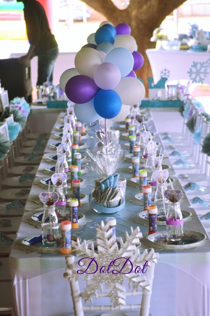 Frozen 1st Birthday Party Birthdays Frozen party and Frozen birthday