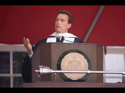 Usc Commencement Address By Arnold Schwarzenegger Youtube Best