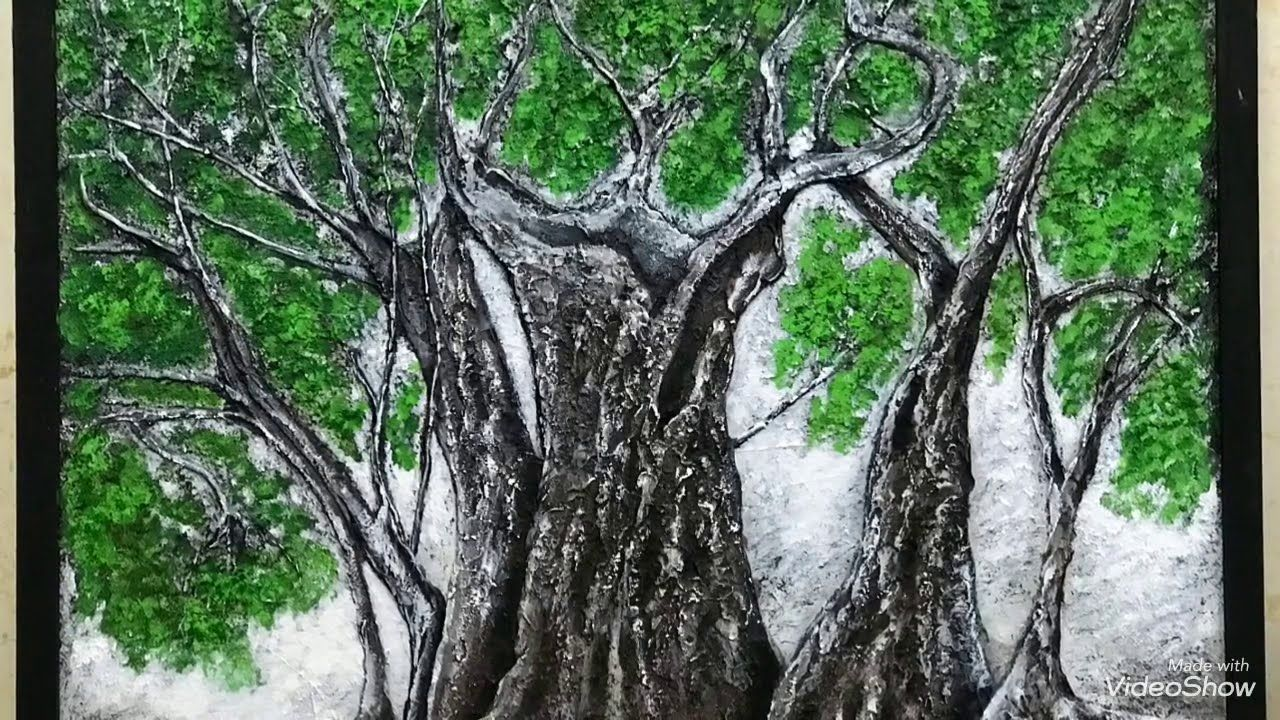 31 آب Drawing Paste عجينة الرسم The Largest Perennial Olive Tree اكبر شجرة زيتون معمرة فلسطين Youtube Tree Tree Trunk Art