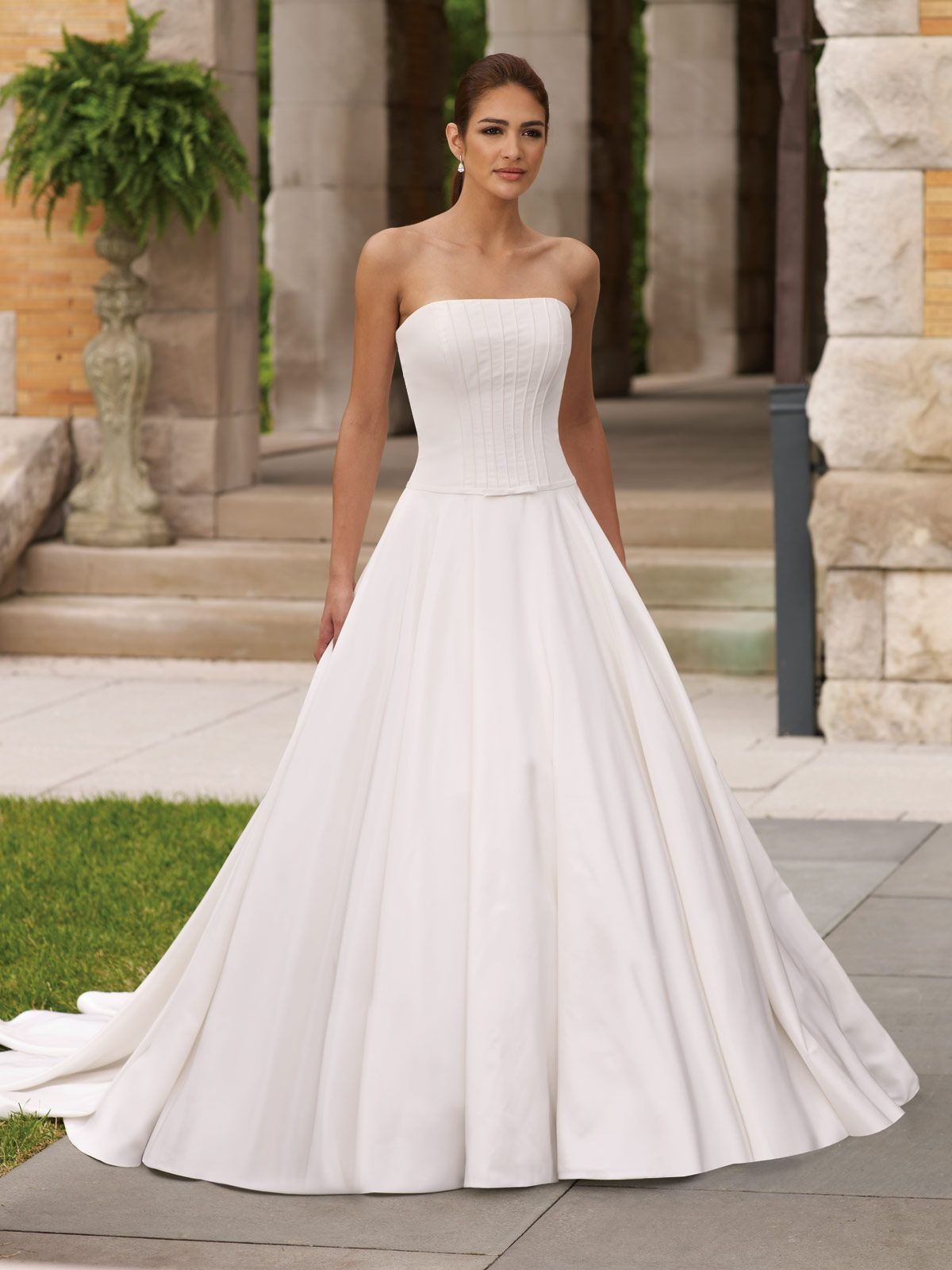 Plain Simple Wedding Dresses - Dresses for Wedding Party Check more ...