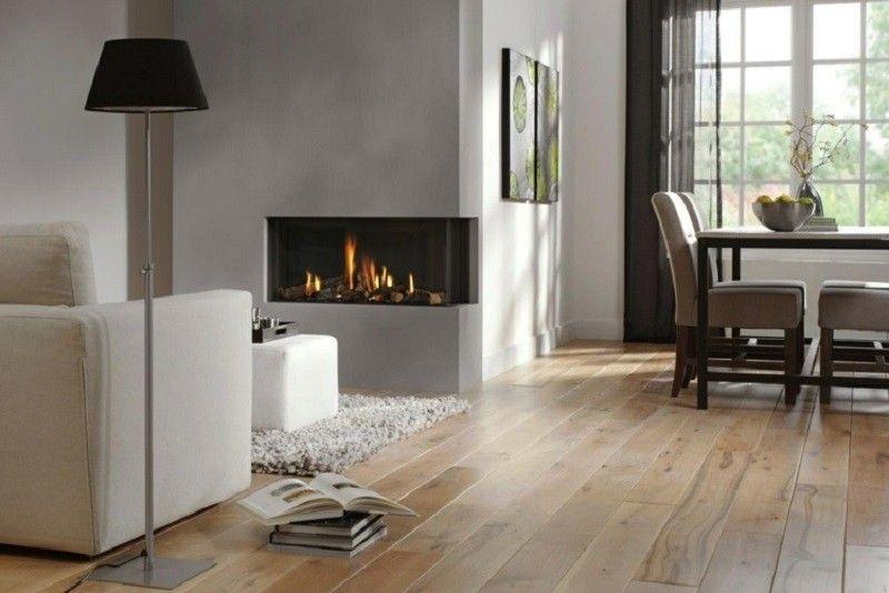 Salones con chimenea 65 ideas ardientes Paredes grises, Salón y