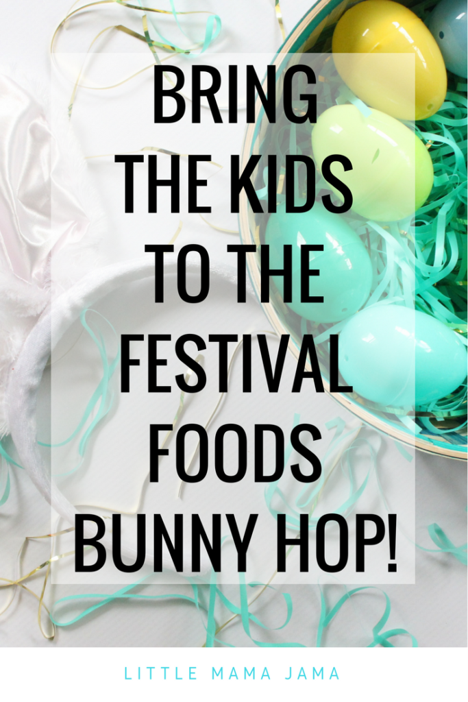 Bring the Kids to the Festival Foods Bunny Hop Food
