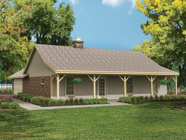 Bowman Country Ranch Home Ranch House Exterior Ranch Style House Plans Small Ranch Style House Plans