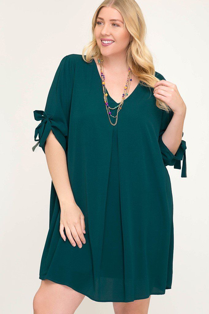Plus size kimono sleeve dress | GIGI\'S FALL and WINTER ...