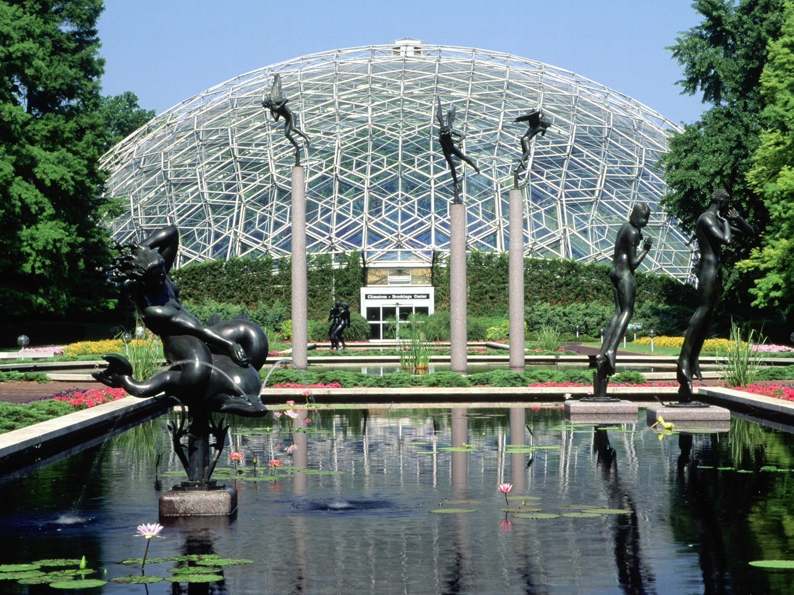 Climatron Botanical Gardens St Louis Missouri This Glasshouse Symbolized A New Era When It