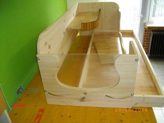 meerschweinchen gehege holz mit balkon gillenbeuren kleintiere zubeh r. Black Bedroom Furniture Sets. Home Design Ideas