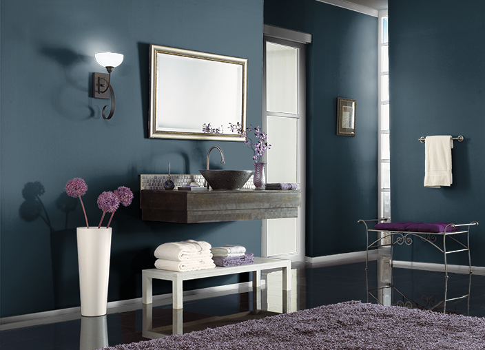 This Is The Project I Created On Behr Used These Colors Nocturne Blue Hdc Cl 28