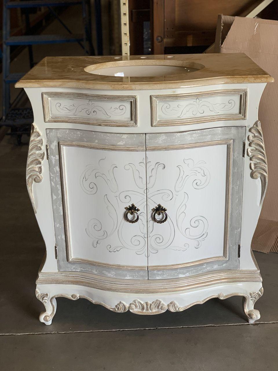 33 Antique Bathroom Vanity Bedding And Bath Distressed White