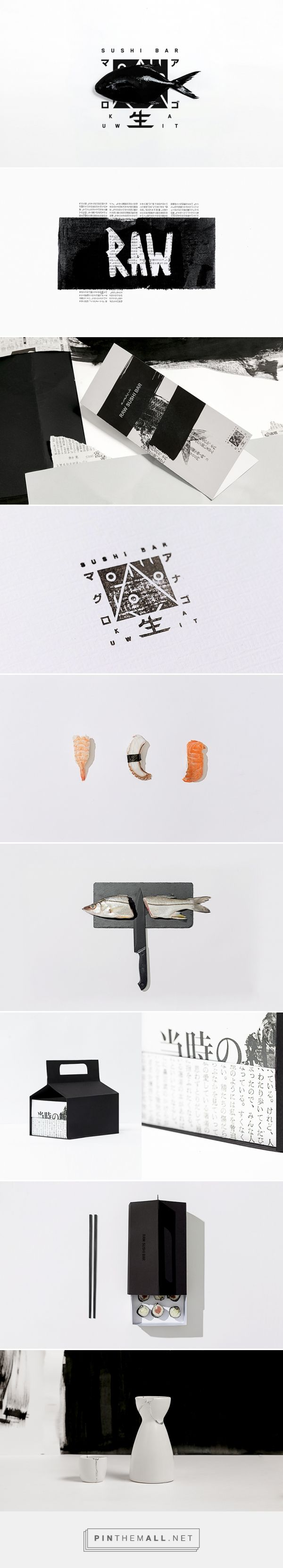 Raw packaging branding on behance by futura curated by - Diva futura club ...