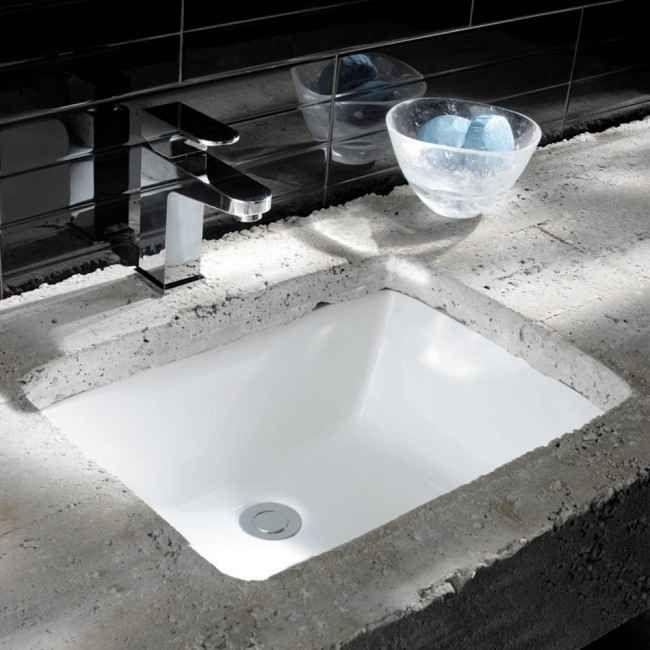 Photo of Crosswater Torino Midi Undermount Ceramic Basin