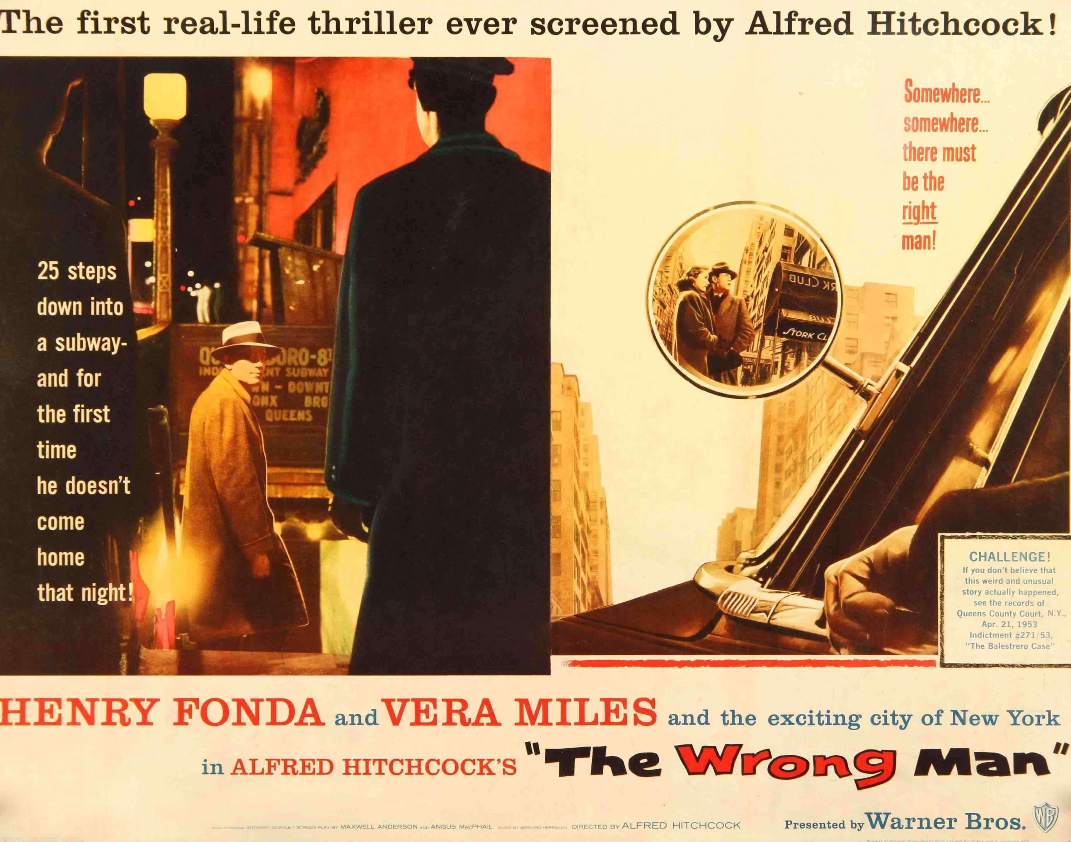 Wrong Man (1956)