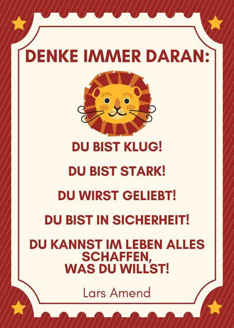 {einfach glücklich} Sei frech und wild und wunderbar! - little. red. temptations.