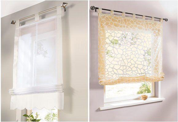 Estores y cortinas f ciles de instalar house pinterest - Cortinas rusticas dormitorio ...