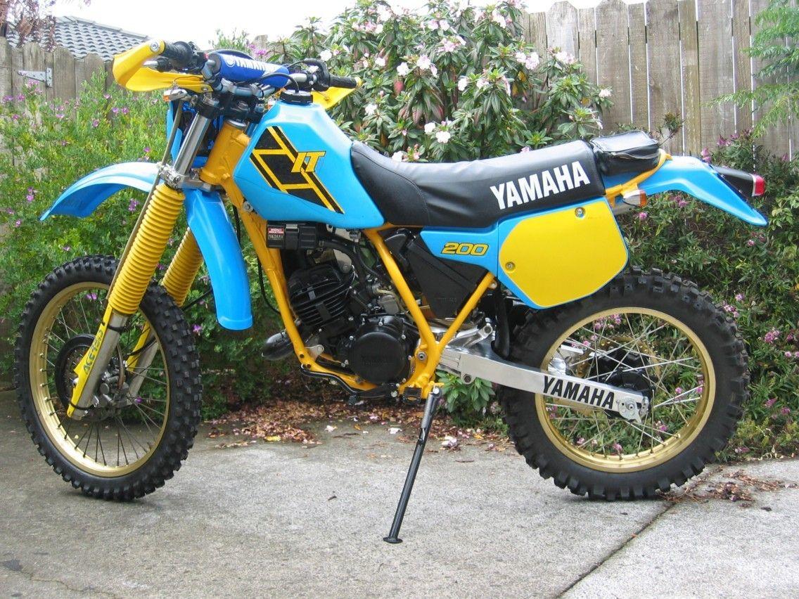 Yamaha It200 1986 Yamaha Bikes Adventure Bike Motocross Bikes