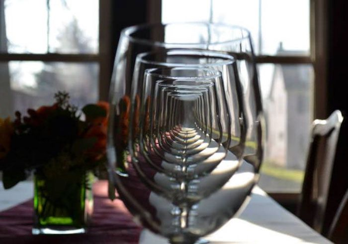 Perfectly Aligned Glasses