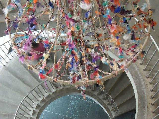 Installation Un Lustre  http://marionbreton-sylviebreton.com/