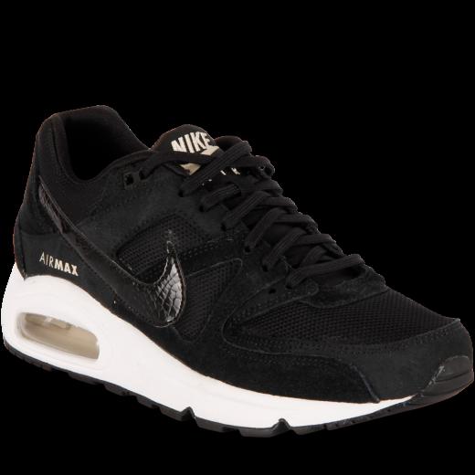 new products 85ec7 1f27a Nike-Air Max Command - Dame-BlackBlack-white-oa-