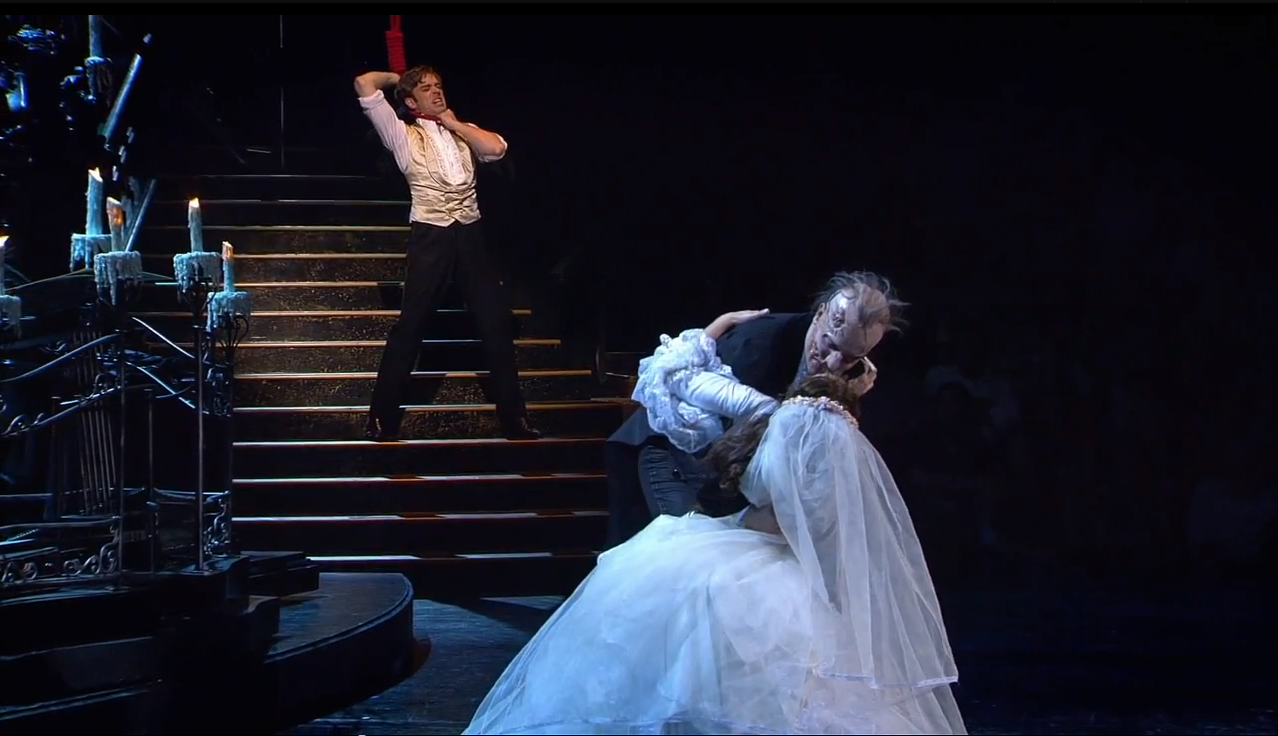 Image result for phantom of the opera webber finale lair raoul