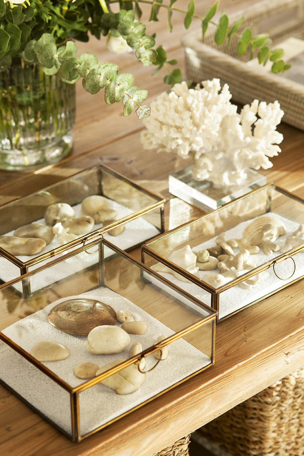 Del caribe a casa bandejas pinterest mesas decorar for Decorar una mesa de comedor de cristal