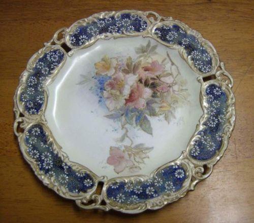 Antique Burslem Royal Doulton Decorative Plate Display Cabinet Hand Painted | eBay & Antique Burslem Royal Doulton Decorative Plate Display Cabinet Hand ...