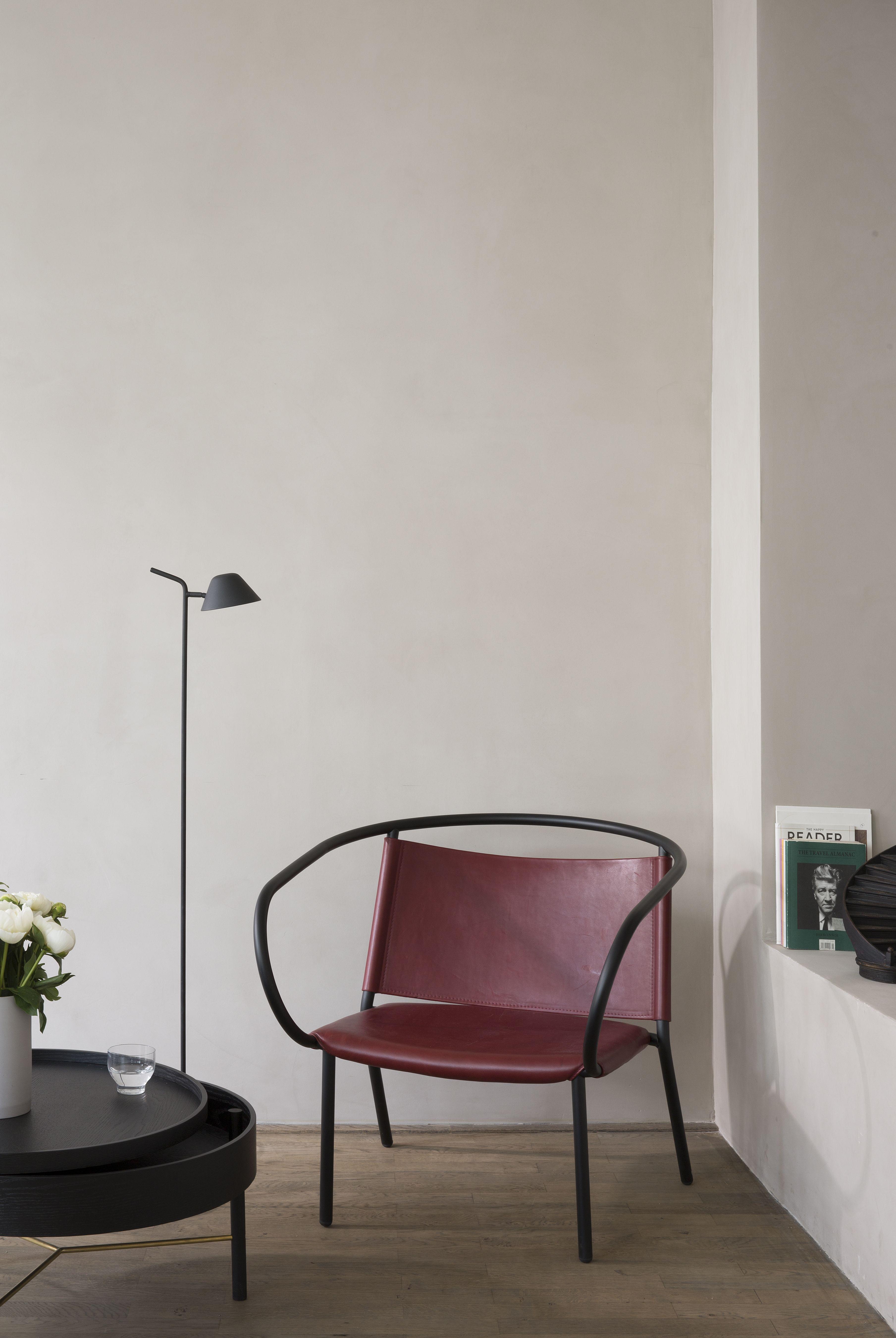 MENU Afteroom Lounge Chair, Turning Table, Peek Floor Lamp | MENU ...