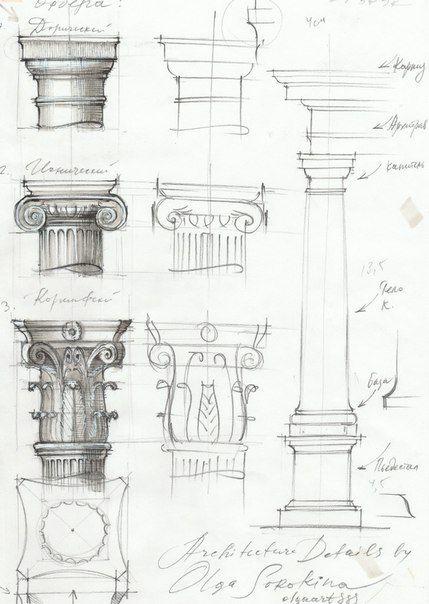 Hand Rendering Interior Design: Architecture Details Sketch Markers 4.jpg Order