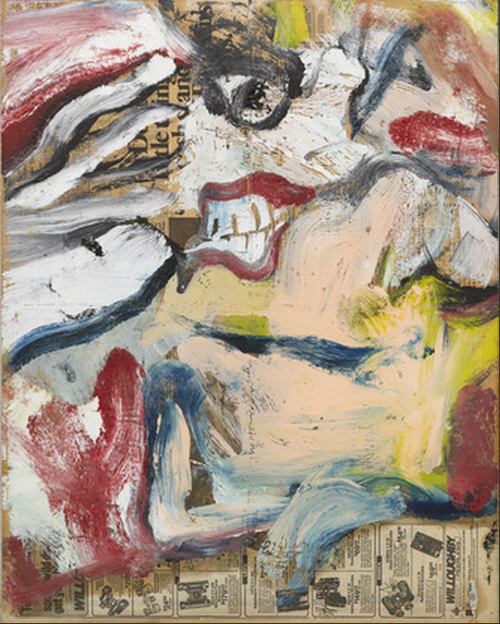 Willem de Kooning~ Untitled (1976)