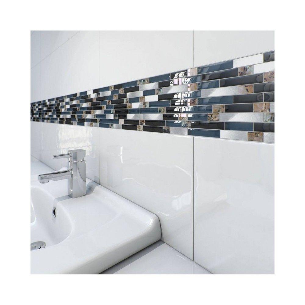 Exmoor High Gloss Super White Wall Tile Bathroom Kitchen 25x40 Beautiful Tile Bathroom Bathroom Wall Tile Small Bathroom Remodel