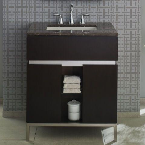 Attractive View Studio Undermount Sink Marble Vanity Top Alternate View