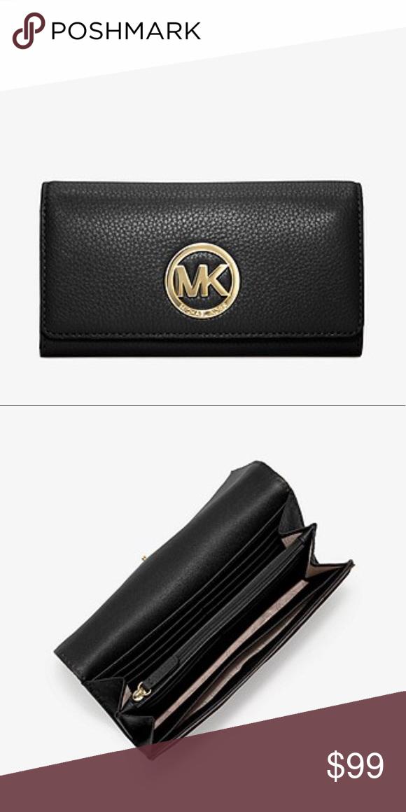 d30a68cafb2a 🌟NWT MICHAEL MICHAEL KORS Fulton Leather Wallet🌟 🌟NWT MICHAEL MICHAEL  KORS Fulton Leather