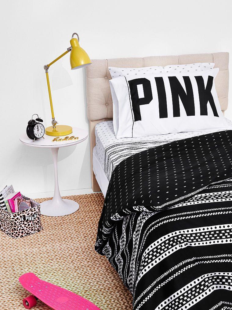 Reversible Duvet Cover Pink Victorias Secret Room Design