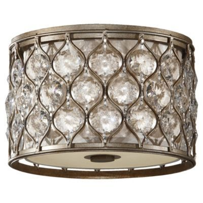 Lucia flushmount ceiling lights foyers and basements
