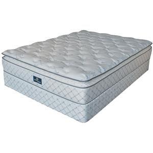 Queen Serta Perfect Sleeper Sorento Mattress And Box Spring
