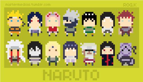 Naruto tv stuff perler bead art hama beads et perler - Naruto boards ...