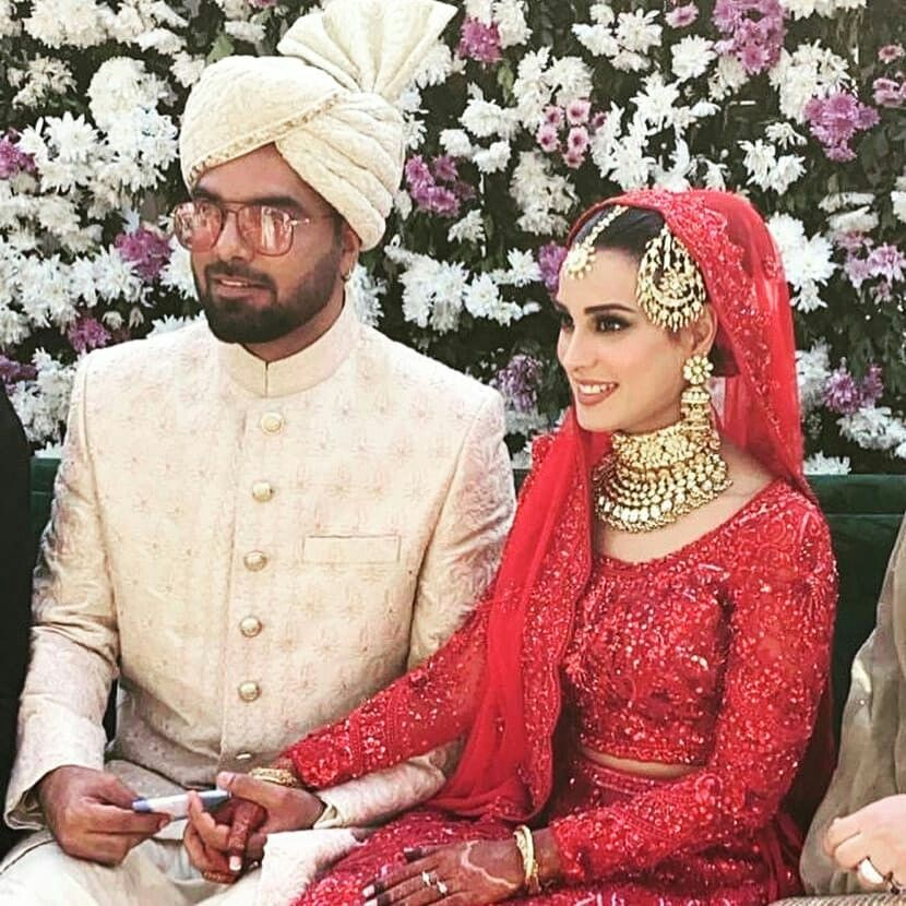 Click on visit for Iqra Aziz And Yasir Hussain Complete Wedding Video   Nikah ceremony, Pakistani fashion casual, Red bridal dress