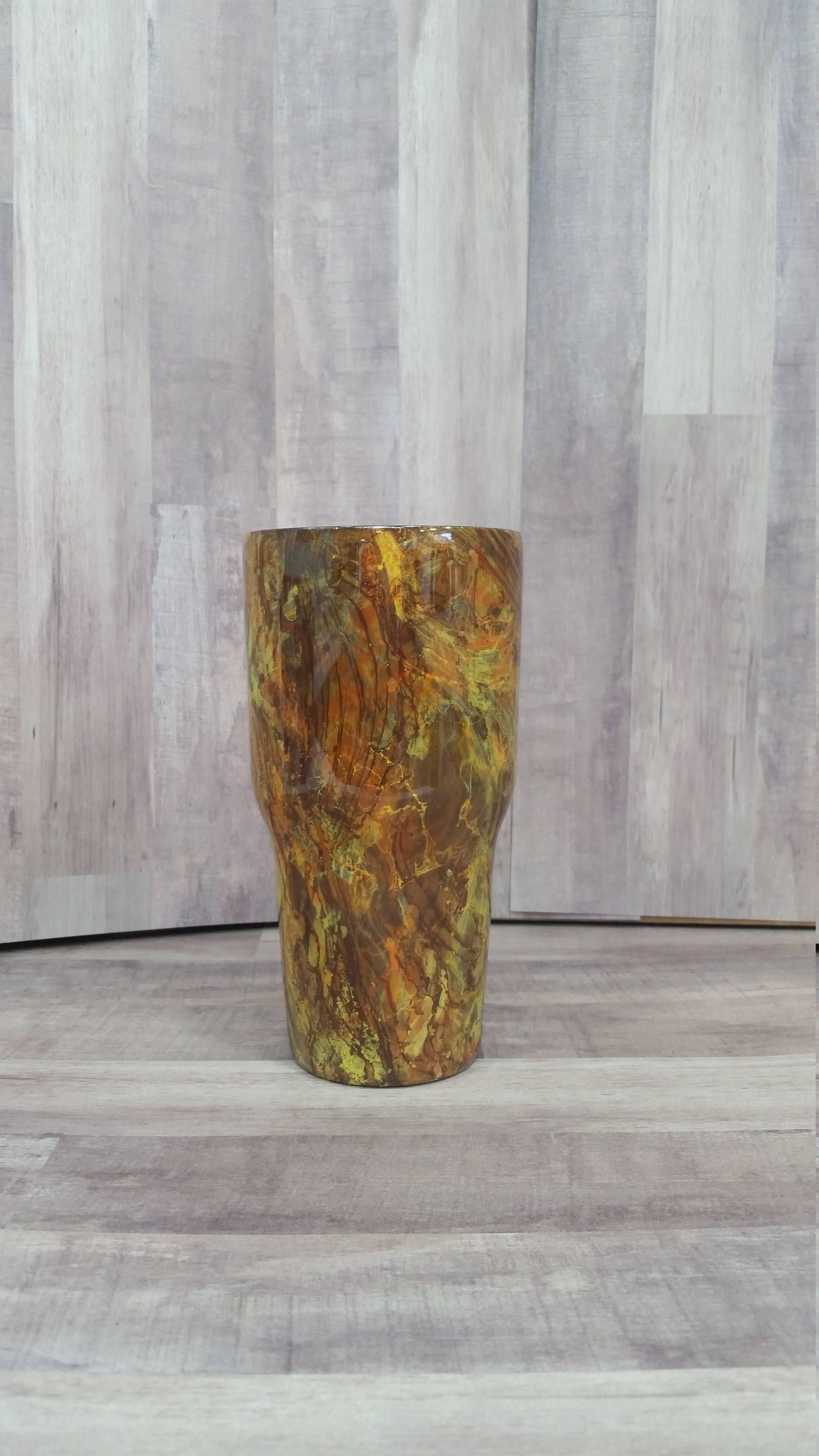Hydro dipped cup / Hydro dipped tumbler / Hydro swirl cup / Hydro ...