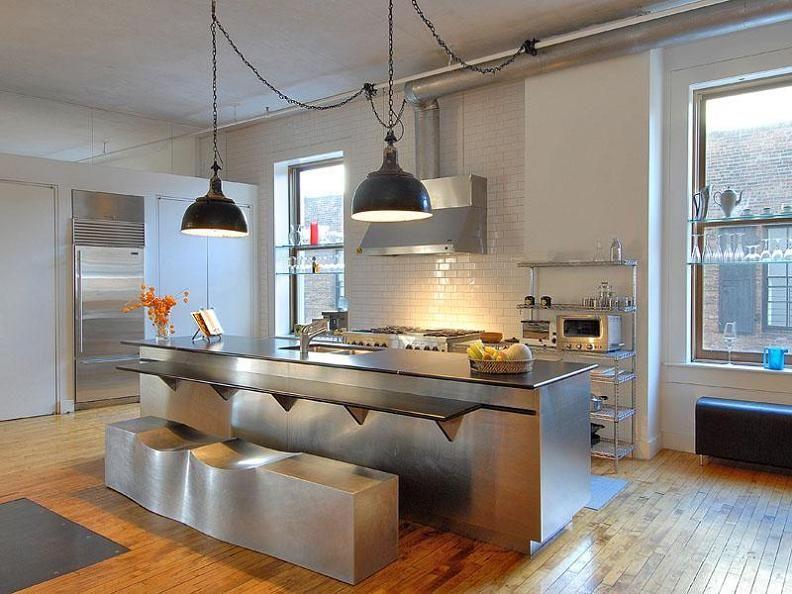 Best Open Concept Kitchen Luxury Condo Living Space Kitchen 400 x 300