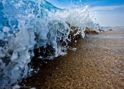 wave. #sea #ocean #waves #sand #beach