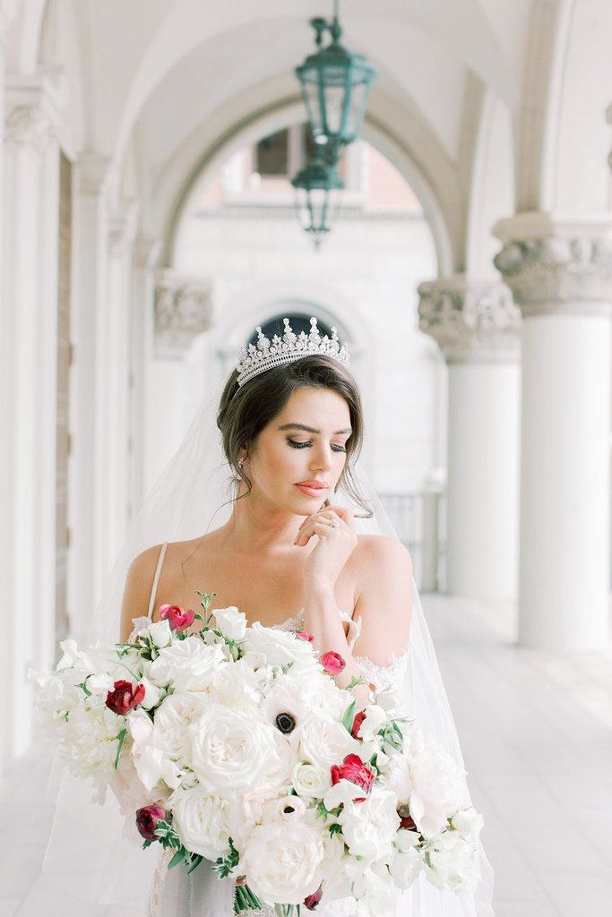 Catherine Bridal Crown In 2020 Bridal Crown Bridal Looks Bride
