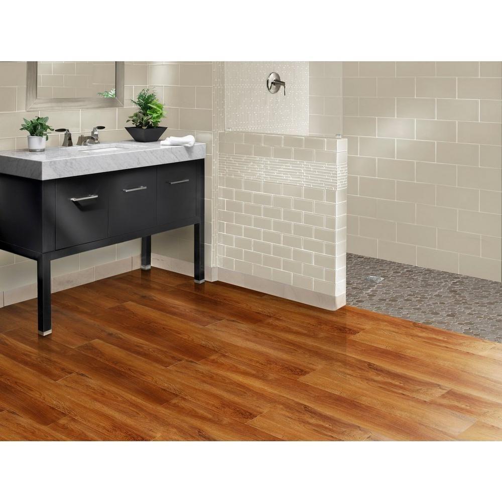 Nucore Gunstock Oak Plank With Cork Back 6 5mm 100109859 Floor And Decor