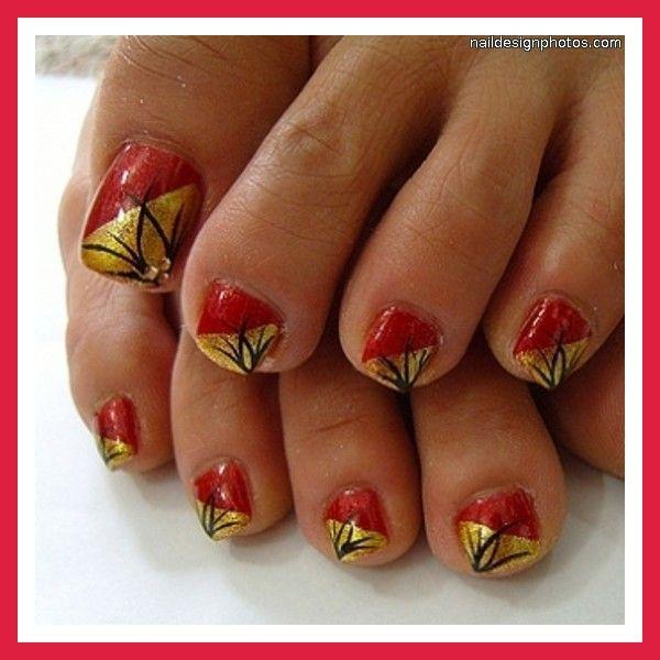 Doityourselfmanicureideas Simple Toe Nail Designs Do It