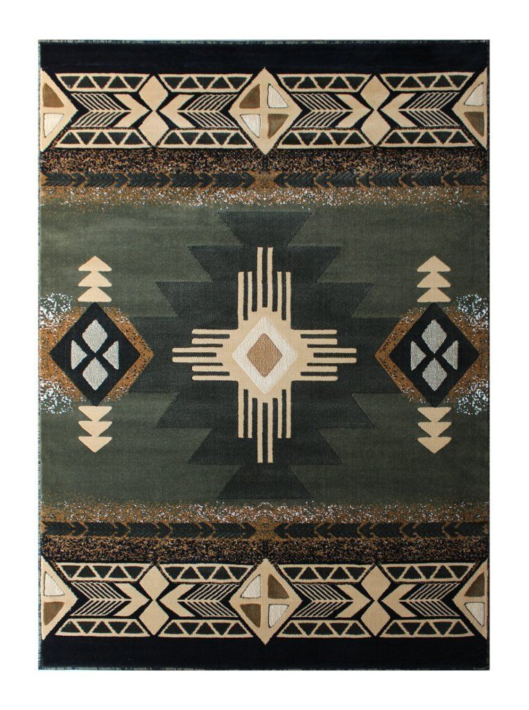 Amazon Com South West Native American Area Rug 8 Ft X 10 Ft Sage