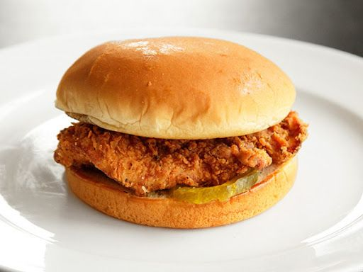 Homemade Chick-fil-a Sandwiches With Kosher Salt, Sugar, Cutlet, Boneless Skinless Chicken Breasts, Paprika, Black Pepper, Cayenne Pepper, Msg, Milk, Large Eggs, All-purpose Flour, Nonfat Milk, Baking Powder, Peanut Oil, Hamburger Buns, Chips
